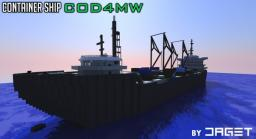Call of Duty 4 MW Container Ship by DAGET - RUSSIAN PROJECT Minecraft Map & Project