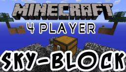 Skyblock 4 Players Version! Download link! Minecraft Project