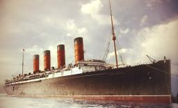RMS Lusitania Minecraft Map & Project