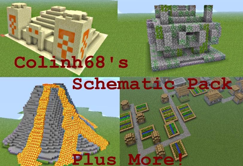how to download schematics from planet minecraft