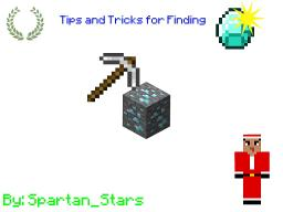 Minecraft Guide - Tips and Tricks for finding diamonds Minecraft Blog Post