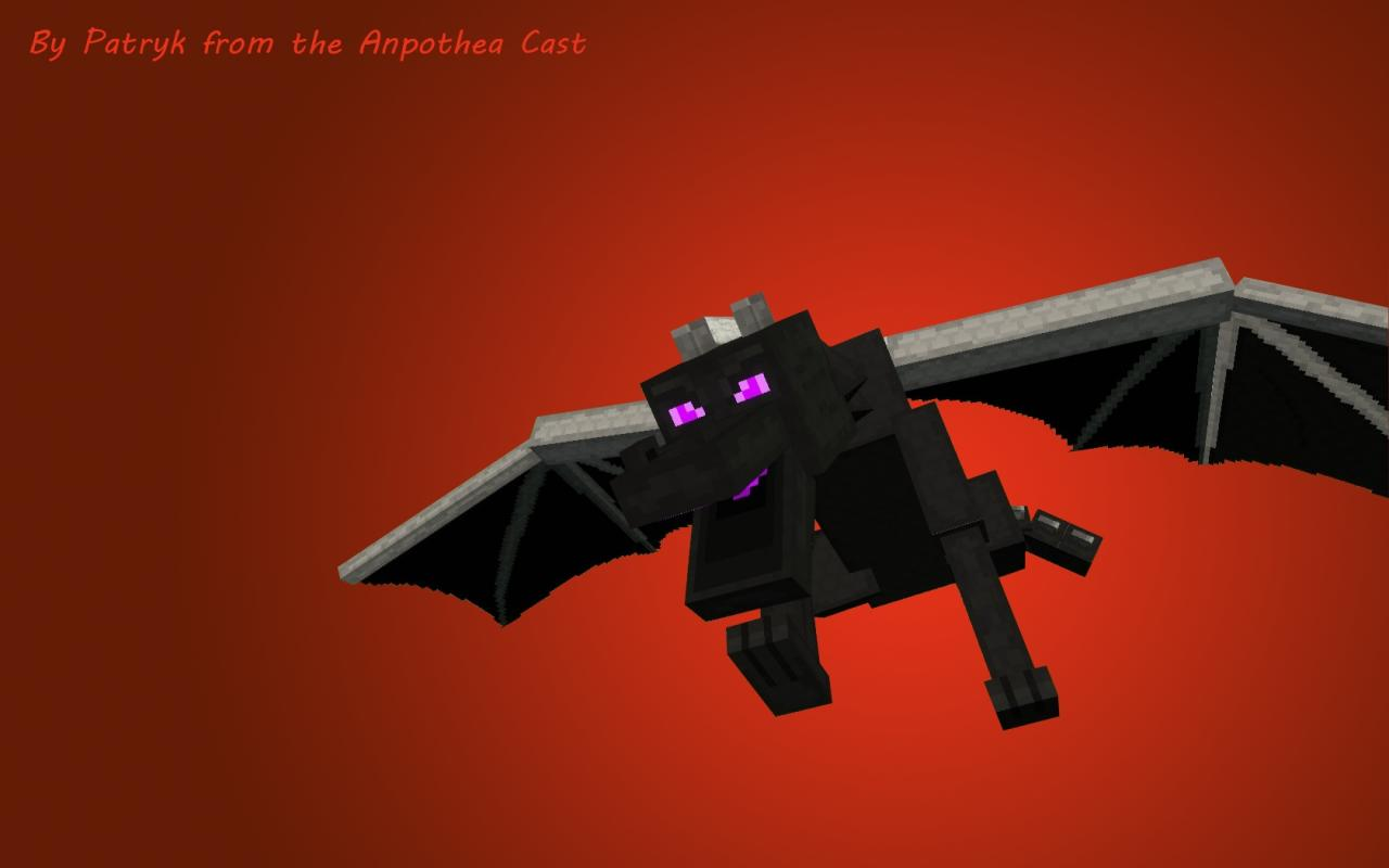 Ender Dragon Wallpaper Made By Patryk Minecraft Project