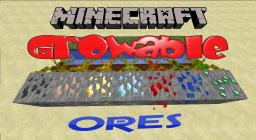 [SP]GrowAble Ores Mod V2.0[1.4.7] Mining the safe way (Yes, We're Back!) Minecraft