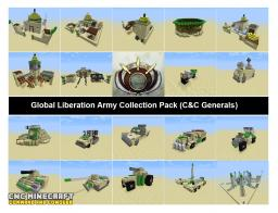 Desert Army Bundle (C&C Generals) Minecraft