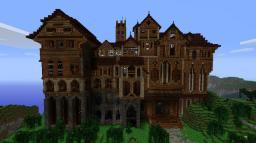 Herobrine Mansion! Minecraft Blog Post