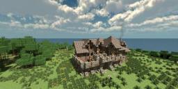 Medieval Barracks by DemoDwarfz Minecraft