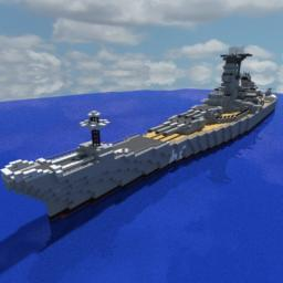 USS New Jersey Minecraft Map & Project