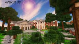 Avenue 99 - Bexley World of Keralis [SCHEMATIC NOW HERE!!] Minecraft Map & Project