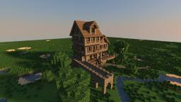 Medieval Restaurant Minecraft Map & Project