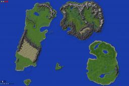 Lands of Elcadius Custom World Painter Map Minecraft Map & Project