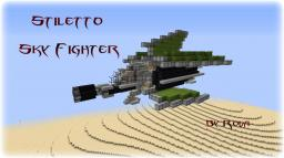 Stiletto Sky Fighter Minecraft Map & Project