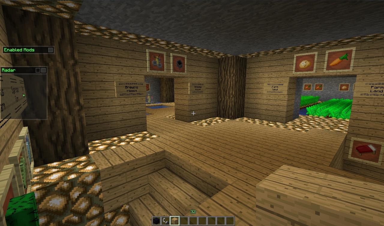 Minecraft Cool Underground Base Minecraft Project
