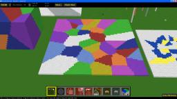VORONOI - MCEdit filter to make cells of blocks for floors and buildings Minecraft Mod