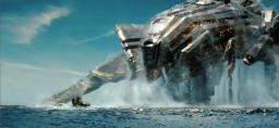 BattleShip Alien Destroyer 'Zeus' Minecraft Map & Project