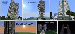 the city of towers by orionn100 Minecraft Map & Project