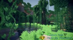 Wayward Forest~ A Custom Swamp Tree Pack 30 Subsciber Special! Minecraft Map & Project