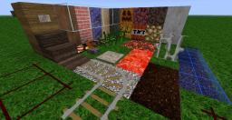 【1.4】128× half realism, half doodle Minecraft Texture Pack