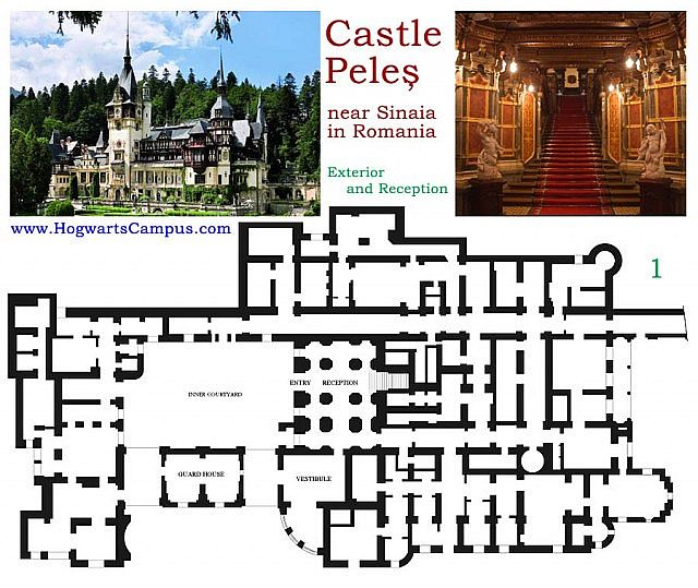 Peles Castle Minecraft Project