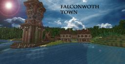 [Medieval] Falconworth Town - Completely rebuilt! Minecraft Map & Project
