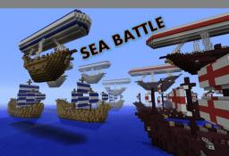 Ship Battle Minecraft Map & Project