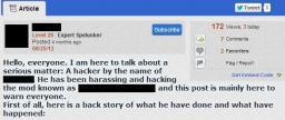 Slanderman [Why Slander is mean] [Rewritten!] Minecraft Blog Post