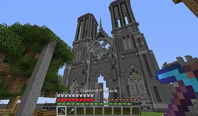 Cathedral Of Endershire Survival Cathedral Build
