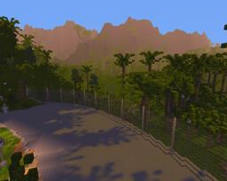 Jurassic park isla nublar map Minecraft Map & Project