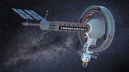 Thunderbird 5 - 2015 TV Redesign Minecraft Map & Project