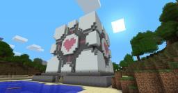 Companion Cube Minecraft Map & Project