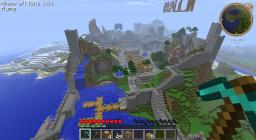 My small city Minecraft Map & Project