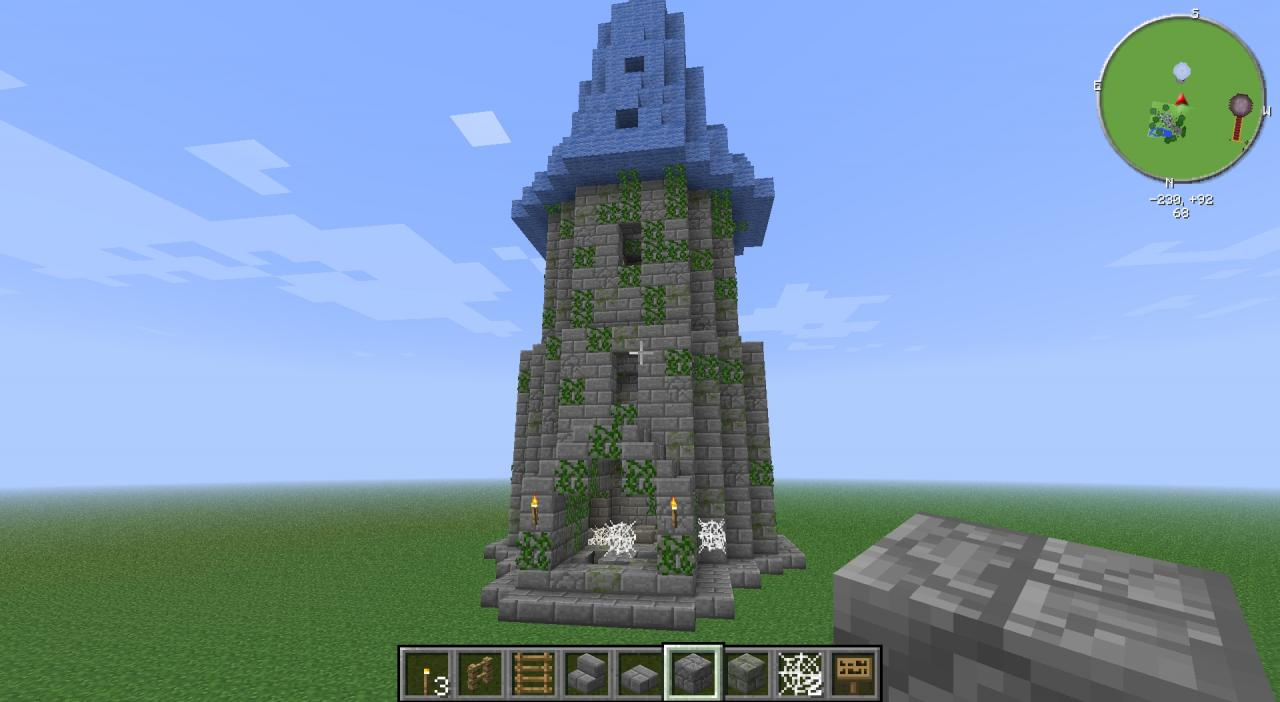 Wizard Tower Minecraft Project