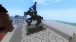 Rider on horse statue Minecraft Map & Project