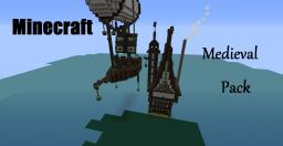 Medieval House and Airship! Minecraft Map & Project
