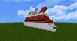 High Speed Catamaran Ferry  'Hellcat V1' Minecraft