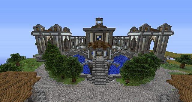 Epic Spawn Building 1 4 7 Mcedit Schematic Minecraft Project
