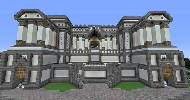 Epic Courthouse Mcedit Schematic 1 4 7 Minecraft Project