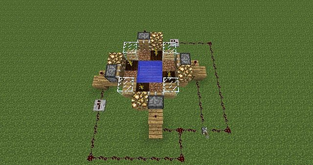 Automatic Pumpkin  Melon Farm  Minecraft Project