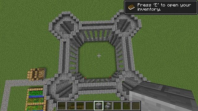 Castle Tutorial Easy Minecraft Map