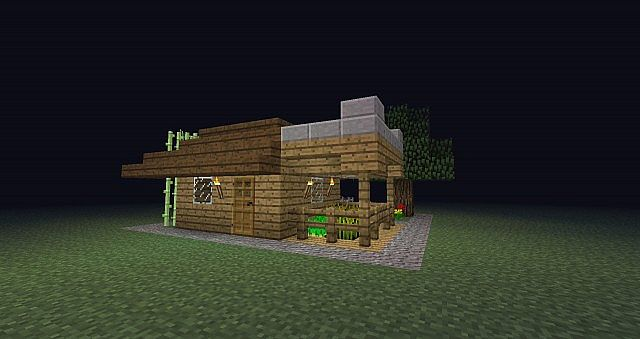 how to build a big house in minecraft survival