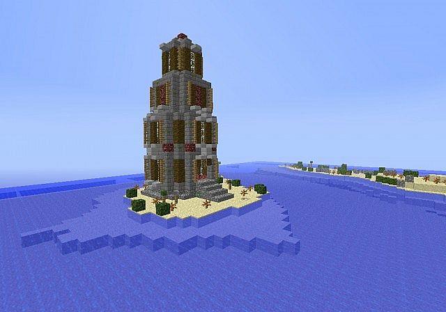 Minecraft CTF Map - Wild Island