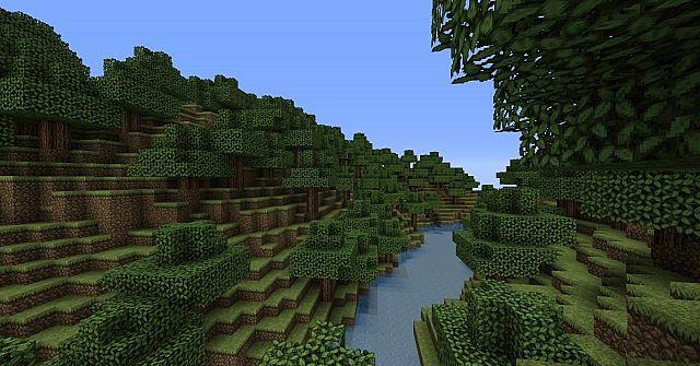 An untamed valley-- terraforming