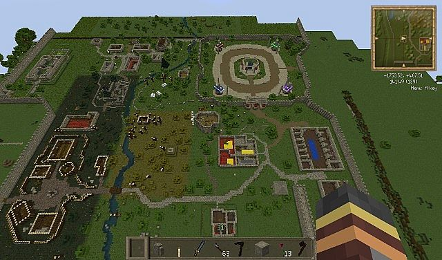 Runescape Map! Perfect Scale! (IMPROVED DL LINK) Minecraft Project