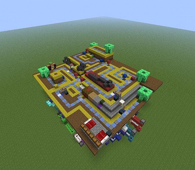 Mario Party 1-Luigi's Engine Room