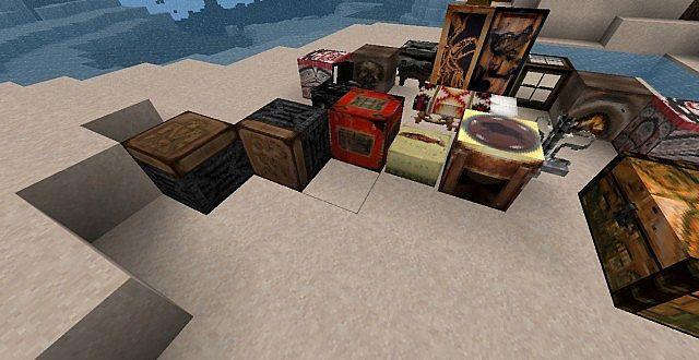 Antiquevintage TNT, pistons, juke box, and salmon cake!