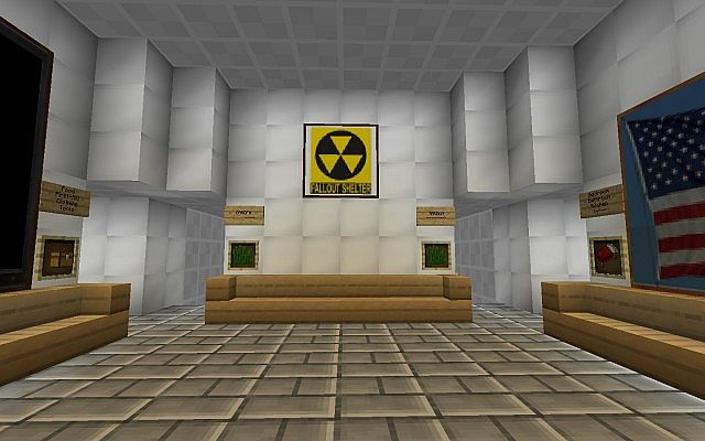 Realistic Fallout Shelter Minecraft Project
