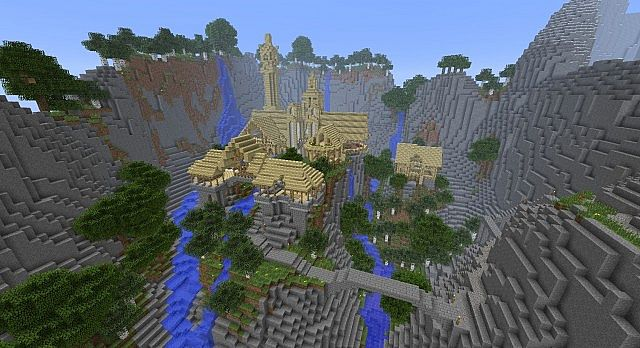 Fellowship Of The Ring Minecraft Map