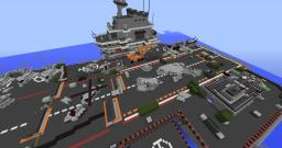 Carrier Black Ops 2 Remake! scaled 1:1 NiicKNumber1 Minecraft Map & Project