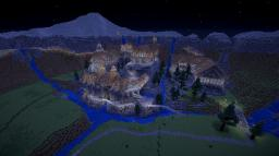 Digital Middle Earth project Minecraft edition Minecraft