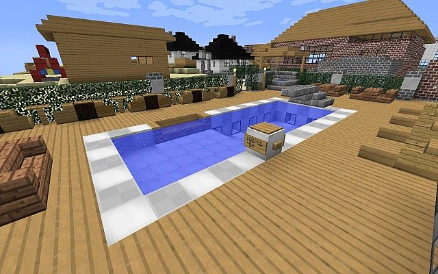 Backyard, pool, and sun room