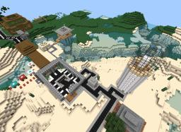 Sadder55 town Project  (single player world only) Minecraft Map & Project